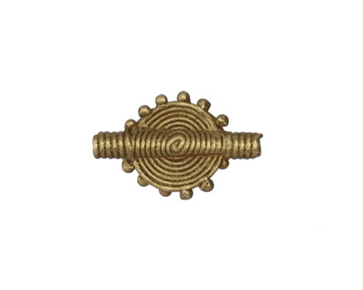African Brass Sun 24x15-16mm