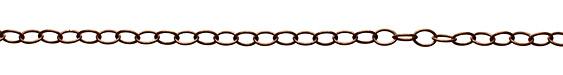 Vintaj Natural Brass Slender Oval Chain