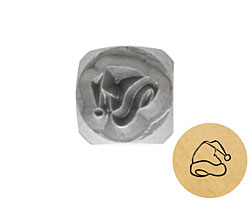 Santa Hat Metal Stamp 5mm