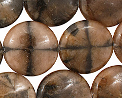 Andalusite Puff Coin 20mm