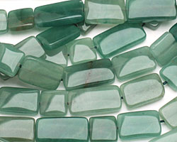 Green Aventurine Thin Pillow & Square Mix 13mm