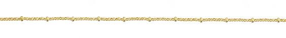 Hamilton Gold (plated) Rollo Satellite Chain