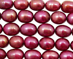 Berry Pink Rice 9-11mm