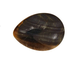 Blue Tiger Eye Teardrop Cabochon 22x30mm