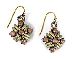 Teresa Earrings Pattern for CzechMates