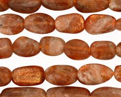 Sunstone Tumbled Nugget 8-15x7-8mm