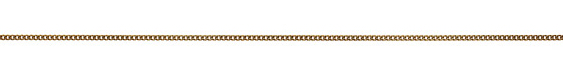 Antique Gold (plated) Flat Curb Chain