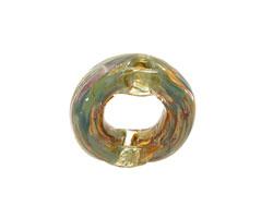 Unicorne Beads Mossy Green Brim Ring 22mm