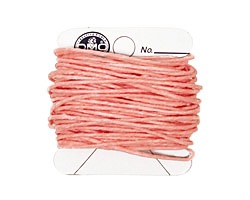 Light Rose Irish Waxed Linen 7 ply