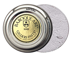 Silver Baroque Art Gilders Paste 30ml