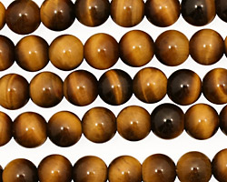 Tiger Eye Round 7-7.5mm