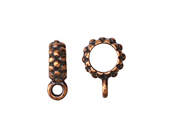 TierraCast Antique Copper (plated) .25 ID Joy Bail 4x14mm