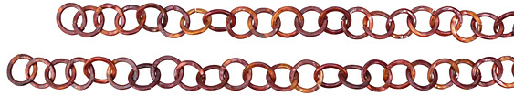 "Patricia Healey Copper Medium Round Link Chain 15mm, 20"""