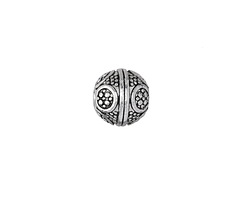 Zola Elements Antique Silver (plated) Bali Style Round 12mm