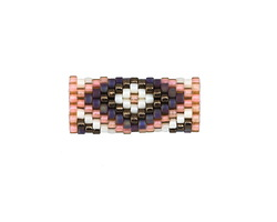 Indian Summer Hand Woven Tube 22x9mm