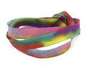 "Kaleidoscope Hand Dyed 100% Silk Ribbon 7/16"""