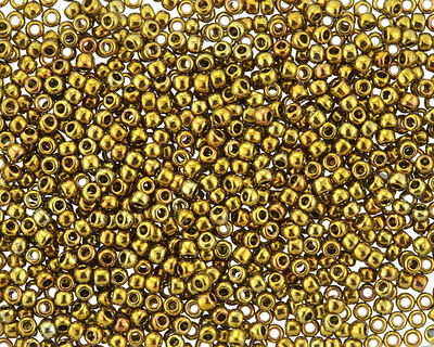 TOHO Galvanized Carnival Round 11/0 Seed Bead