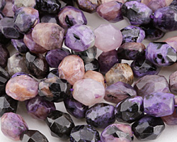 Charoite Faceted Nugget 12-18x8-12mm