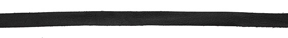 Black Deertan Leather Lace 10mm