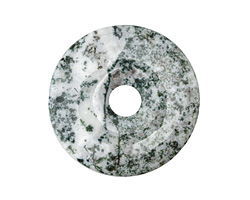 Tree Agate Donut 40mm