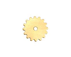 Brass Small Closed Gear 16mm