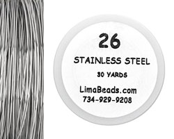 Parawire Stainless Steel 26 Gauge, 30 Yards