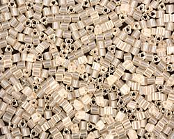 TOHO Ceylon Light Ivory Triangle 11/0 Seed Bead