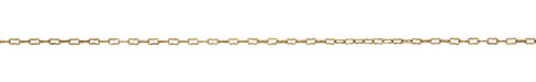 Antique Gold (plated) Peanut Cable Chain