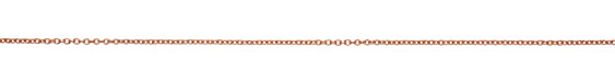 Rose Gold (plated) Small Cable Chain