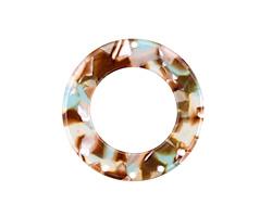 Zola Elements Mermaid Acetate Donut Chandelier 38mm