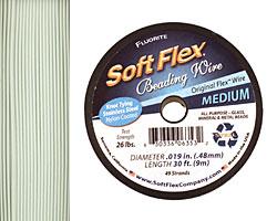 """Soft Flex Fluorite .019"""" (Medium) 49 Strand Wire 30ft."""