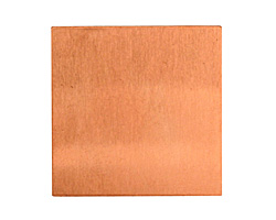 Copper Square Blank 29mm