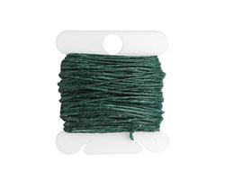 Dark Forest Green Irish Waxed Linen 4 ply