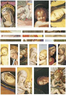 Nunn Design Madonna Channel Bead Collage Sheet