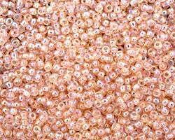 TOHO Transparent Rainbow Rosaline Round 11/0 Seed Bead