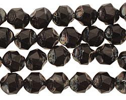 Czech Glass Dark Garden Chandelier Cut 8mm