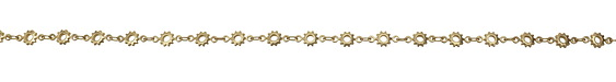 Matte Gold (plated) Cog Chain