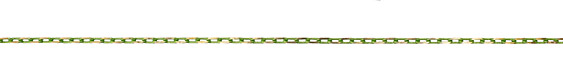 Neo Lime Green Oval Cut Cable Chain 5x3mm