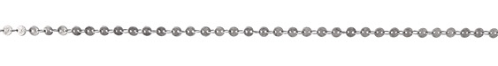 Antique Silver (Plated) Flat Coin Link Chain