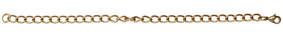 """Vintaj Vogue Finished Curb Bracelet Bracelet 8"""""""
