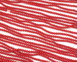 Red Coral Round 2mm