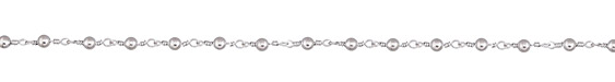 Silver Finish Bead Chain