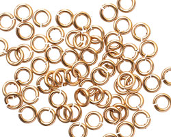 Bronze Jump Ring 5mm, 18 gauge