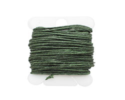 Dark Emerald Irish Waxed Linen 7 ply