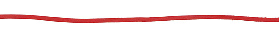 Red Deertan Leather Lace 3mm