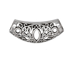 Zola Elements Antique Silver (plated) Filigree Arch Slide Focal 33x15mm