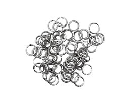 Artistic Wire Non-Tarnish Silver Chain Maille Jump Ring 4.37mm, 20 gauge