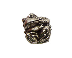 Green Girl Pewter Toady 20x15mm