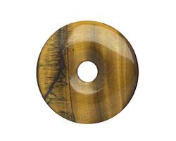 Tiger Eye Donut 40mm