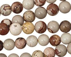 Coffee Bean Jasper Round 8mm